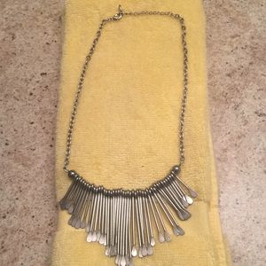 Never worn Guess necklace stainless steel